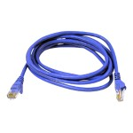 High Performance - Patch cable - RJ-45 (M) to RJ-45 (M) - 7 ft - UTP - CAT 6 - snagless - blue - for Omniview SMB 1x16, SMB 1x8; OmniView SMB CAT5 KVM Switch