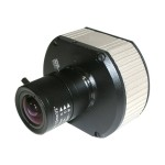 MegaVideo Compact Series AV2110 - Network surveillance camera - PTZ - color - 2 MP - C/CS-mount - LAN 10/100 - MJPEG - PoE