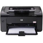 LaserJet Pro P1102W - Printer - monochrome - laser - A4/Legal - 1200 dpi - up to 19 ppm - capacity: 160 sheets - USB, Wi-Fi(n) - remarketed