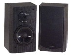 Venturi DV62si - Speakers - bookshelf - 2-way - black (grille color - black)