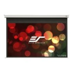 Evanesce B Series EB100VW2-E8 - Projection screen - in-ceiling mountable - motorized - 100 in (100 in) - 4:3 - MaxWhite FG - white