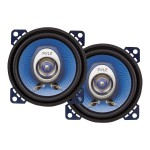 Pyle 4'' 180 Watt Two-Way Speakers - Pair PL42BL