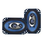 4'' x 6'' 240 Watt Three-Way Speakers - Pair