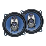 Pyle 5.25'' 200 Watt Three-Way Speakers - Pair PL53BL