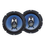 6.5'' 360 Watt Three-Way Speakers - Pair