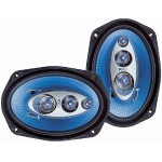 Pyle 6''x 9'' 400 Watt Four-Way Speakers - Pair PL6984BL