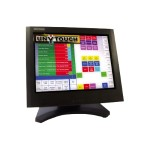 "Stingray Series U09-T150-SB - LCD monitor - 15"" - touchscreen - 1024 x 768 - 250 cd/m2 - 300:1 - 12 ms - VGA - speakers - black"