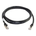 Cat6a Snagless Shielded (STP) Network Patch Cable - Patch cable - RJ-45 (M) to RJ-45 (M) - 6 ft - STP - CAT 6a - snagless, stranded - black
