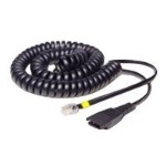 8800 02 - Headset cable - Quick Disconnect (M) to RJ-9 (M) - for Cisco IP Telephone 7900