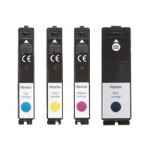 Multi-Pack - 4-pack - High Yield - black, yellow, cyan, magenta - original - ink cartridge - for  LX900 Color Label Printer, RX900 Colour RFID Label Printer