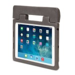 SafeGrip Rugged Carry Case & Stand for iPad Air - Charcoal