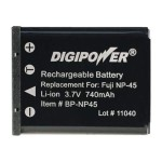 Digipower - Camera battery Li-Ion 740 mAh - for Fujifilm FinePix JV500, JX580, JX680, JZ200, JZ250, T410, T500, T550, XP60; Instax Mini 90