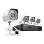 ZP-KE1H04-S-1TB - DVR + camera(s) - 4 channels - 1 x 1 TB - 4 camera(s)