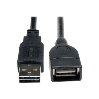 TrippLite 6 Inch USB 2.0 Hi-Speed Universal Reversible Cable A to A M/F 6