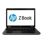 "HP ZBook 17 Mobile Workstation - 17.3"" - Core i7 4700MQ - Windows 7 Pro 64-bit / 8 Pro downgrade - 8 GB RAM - 256 GB SSD J2M32UT#ABA"