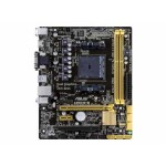 A88XM-E - Motherboard - micro ATX - Socket FM2+ - AMD A88X - USB 3.0 - Gigabit LAN - onboard graphics (CPU required) - HD Audio (8-channel)