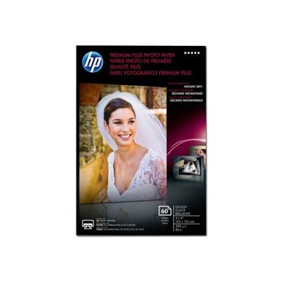 HP Premium Plus Photo Paper - glossy photo paper - 60 sheet(s) (CR665A)
