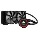 Corsair Memory Hydro Series H105 240mm Extreme Performance Liquid CPU Cooler - Liquid cooling system - ( LGA1156 Socket, Socket AM2, LGA1366 Socket, Socket AM3, LGA1155 Socket, LGA2011 Socket, Socket FM1, Socket FM2, LGA1150 Socket ) - copper - 120 mm CW-9060016-WW