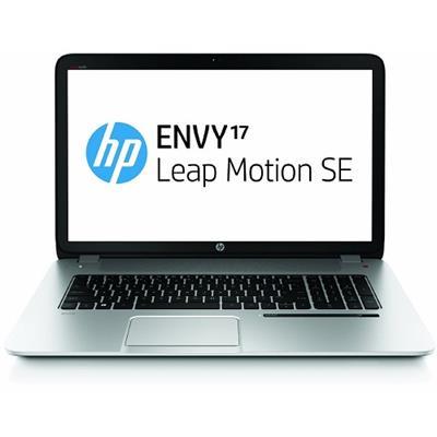 HPENVY 17-j150nr Intel Core i5-4200M 2.50GHz Leap Motion SE Notebook - 8GB RAM, 750GB HDD + 8GB NAND, 17.3