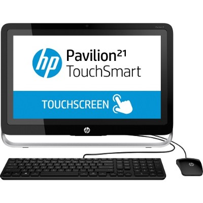 HP Pavilion Touchsmart 21-h010 AMD A4-5000 Quad-Core 1.50GHz All-in-One Desktop Computer - 4GB RAM, 1TB HDD, 21.5