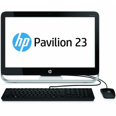 HP Pavilion 23-g010 AMD Quad-Core E2-3800 APU 1.30GHz All-in-One Desktop PC - 4GB RAM, 500GB HDD, 23