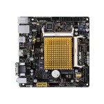 ASUS J1800I-C/SI - Motherboard - mini ITX - Intel Celeron J1800 - USB 3.0 - Gigabit LAN - onboard graphics - HD Audio (8-channel) J1800I-C/C/SI
