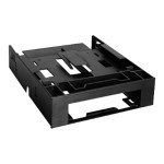 "MB343SP - Storage bay adapter - 5.25"" to 1 x 3.5"" and 2 x 2.5"" - black"