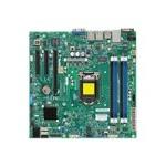 SUPERMICRO X10SLL+-F - Motherboard - micro ATX - LGA1150 Socket - C222 - USB 3.0 - 2 x Gigabit LAN - onboard graphics