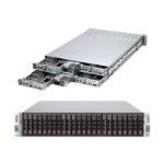 "Supermicro SuperServer 2027TR-HTRF+ - 4 nodes - cluster - rack-mountable - 2U - 2-way - RAM 0 MB 2.5"" - no HDD - MGA G200eW - GigE - monitor: none"