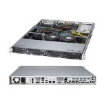 "Super Micro Supermicro SuperServer 6017R-TDF+ - Server - rack-mountable - 1U - 2-way - RAM 0 MB - SATA - hot-swap 3.5"" - no HDD - G200eW - GigE - Monitor : none SYS-6017R-TDF+"