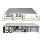 "Super Micro Supermicro SuperServer 6024H-82R+ - Server - rack-mountable - 2U - 2-way - RAM 0 MB - SCSI - hot-swap 3.5"" - no HDD - CD-ROM - RAGE XL - GigE - Monitor : none SYS-6024H-82R+B"