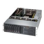 "Super Micro Supermicro SuperServer 6037R-72RFT+ - Server - rack-mountable - 3U - 2-way - RAM 0 MB - SAS - hot-swap 3.5"" - no HDD - Matrox G200 - GigE, 10 GigE - Monitor : none SYS-6037R-72RFT+"