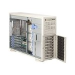 "Supermicro SuperServer 7045B-8R+ - Server - tower - 4U - 2-way - RAM 0 MB - SCSI - hot-swap 3.5"" - no HDD - ATI ES1000 - GigE - monitor: none"