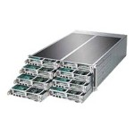 Supermicro SuperServer F617R2-FT+ - 8 nodes - cluster - rack-mountable - 4U - 2-way - RAM 0 MB - no HDD - G200eW - GigE - monitor: none