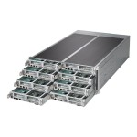 Supermicro SuperServer F617R3-FT+ - 8 nodes - cluster - rack-mountable - 4U - 2-way - RAM 0 MB - no HDD - G200eW - GigE - monitor: none
