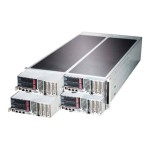Supermicro SuperServer F627R3-FT+ - 4 nodes - cluster - rack-mountable - 4U - 2-way - RAM 0 MB - no HDD - G200eW - GigE - monitor: none