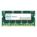 DDR3L - 2 GB - SO-DIMM 204-pin - 1600 MHz / PC3L-12800 - 1.35 V - unbuffered - non-ECC - for Inspiron 31XX; Latitude 3440, 3540, E6330, E6440, E6540, E7240, E7440