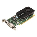 NVIDIA Quadro K600 - Graphics card - Quadro K600 - 1 GB DDR3 - PCIe 2.0 x16 low profile - DVI, DisplayPort - for Precision Fixed Workstation T3600, T7600