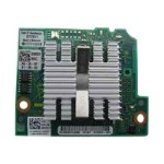 QLogic 57810-k - Network adapter - 10 GigE, FCoE - 10GBase-KR - 2 ports - for PowerEdge M420, M520, M620