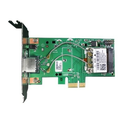 PCM | Dell, Wireless 1540 - Network adapter - PCIe Half Mini Card -  802 11a, 802 11b/g/n - for OptiPlex 3020, 3030, 390, 7010, 7020, 760, 790,  9020,