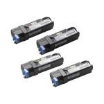 Black, yellow, cyan, magenta - original - toner cartridge - for Color Laser Printer 1320c