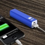 2600MAH PORTABLE POWER BANK BLUE