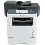 MX611dfe - Multifunction printer - B/W - laser - Legal (8.5 in x 14 in) (original) - A4/Legal (media) - up to 50 ppm (copying) - up to 50 ppm (printing) - 650 sheets - 33.6 Kbps - USB 2.0, Gigabit LAN, USB host