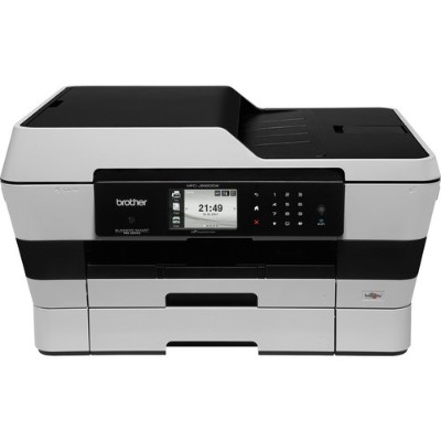 Brother Wireless Color All-in-One Inkjet Printer (MFCJ6920DW)