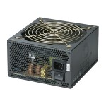 Coolmax Technology ZU-600B - Power supply ( internal ) - ATX12V 2.3/ EPS12V 2.91 - 80 PLUS Bronze - AC 100-240 V - 600 Watt - active PFC 14508