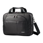 "Samsonite Xenon 2 Two Gusset Toploader - Notebook carrying case - 17"" - black 49209-1041"