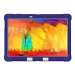 Silicone Skin Jelly - Protective cover for tablet - silicone - blue - for Samsung Galaxy Note 10.1 (2014 Edition), TabPRO (10.1 in)