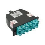 Panduit QuickNet MTP Fiber Optic Cassettes - Pre-terminated fiber optic cassette - LC MM X 12 FC2XN-12-10AF