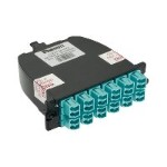 Panduit QuickNet MTP Fiber Optic Cassettes - Pre-terminated fiber optic cassette - LC MM X 12 FC2XN-12-10AS
