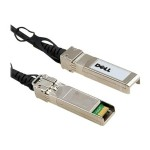Dell Network cable - SFP+ to SFP+ - 1.6 ft - for Networking N2024, N2048, N3024, N3048, N4032, N4064 332-1664